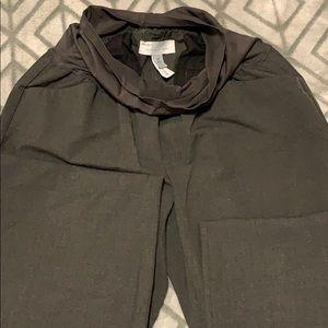 Grey Maternity dress pant